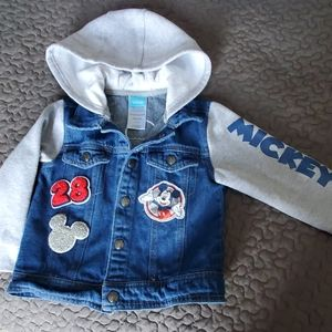 Boy's 4T Mickey Letterman style jacket